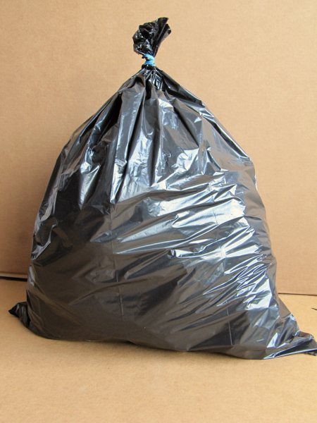 Garbage bags, by TGS Plastics and Packaging